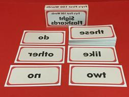 Fry's First Hundred Words - Reading - Fry Sight Word Flash C