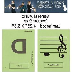 "Notes & Strings General Music 4.25""X5.5"" Regular Size Lamina"