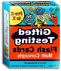 Gifted Testing Flash Cards – Math Concepts for Pre-K – K