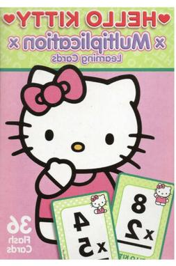 Hello Kitty Multiplication 36  Learning Flash Cards