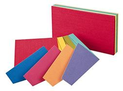 """Index Cards,Ruled, 4""""x6"""", Assorted  Category: Index Cards Ex"""