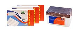 Index Cards, 3x5-Inch, Ruled, White, 100-Count per Package -