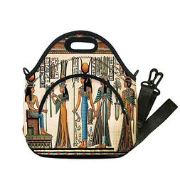 Insulated Lunch Bag,Neoprene Lunch Tote Bags,Egyptian,Egypti