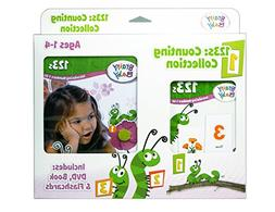 Brainy Baby Introducing Numbers 1 to 20 123s Flashcards, DVD