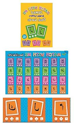 Jumbo Arabic Letters Flash Cards Set with FREE A2 Size Poste