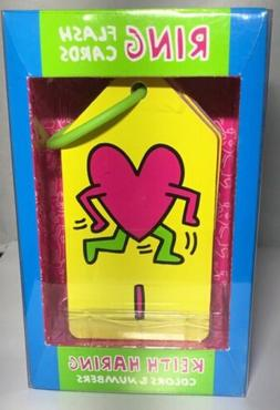Keith Haring: Ring Flash Cards Colors And Numbers Mudpuppy M