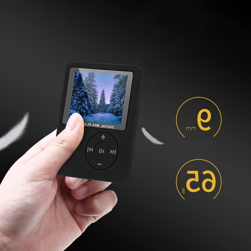 "1.8"" Color TF Portable HiFi Video Player FM Walkman"