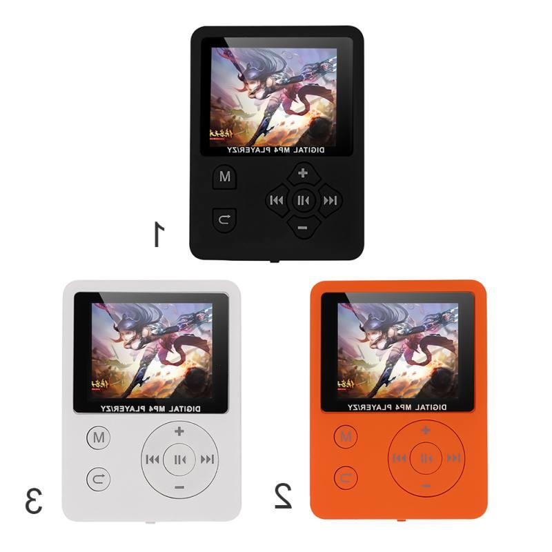 1.8 Inch Color Screen Ultrathin MP3 Player Support 32G TF <f