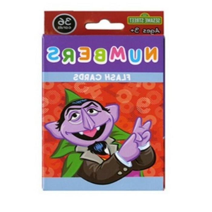 Sesame Street Flash Cards Educational Early Learning Colors