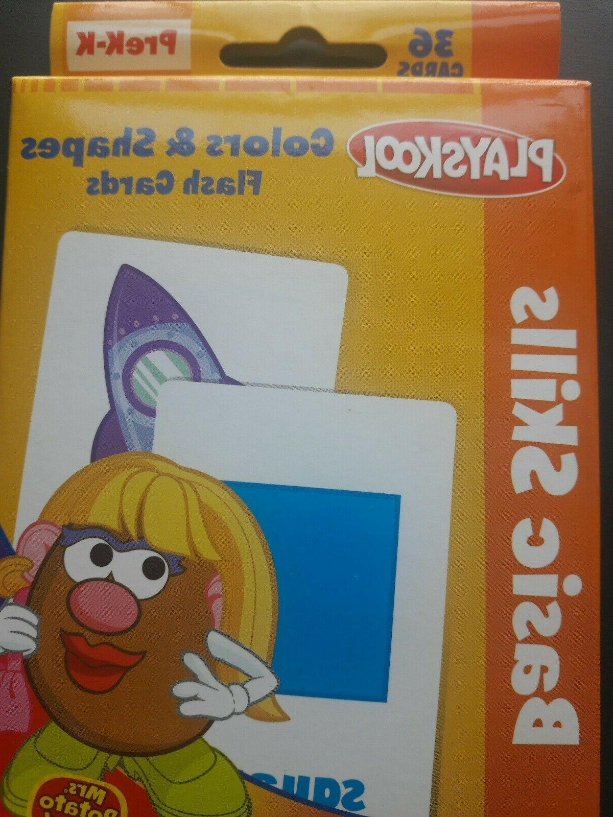 2 of Flash Cards - PreK- Colors Shapes