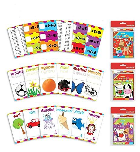 ABC Math Flash Cards Alphabet, Multiplication, Division, Sub