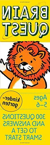 Brain Quest Kindergarten, revised 4th edition: 300 Questions