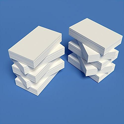 3 X 5 Inch Standard 110# Smooth Finish White Index Cards Thicker Than Other Brands Genuine Index Card Stock Made In The USA Debra Dale Designs 1,000