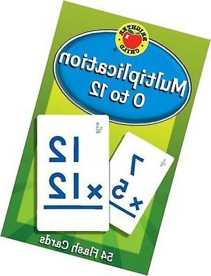 Multiplication 12 Flash Cards
