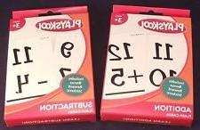 Playskool Addition & Subtraction Flash Cards 2-Pack