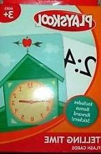 Playskool Telling Time Flash Cards