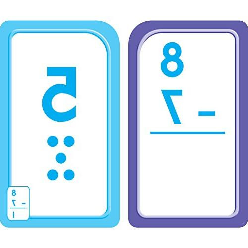 Subtraction 0-12 Cards