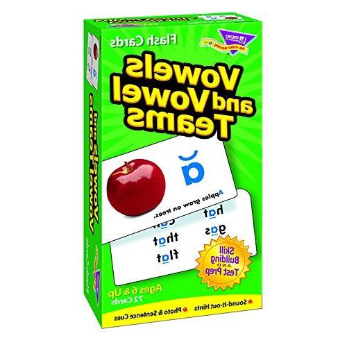 Vowels and Vowel Teams Skill Drill Flash Card Game by Trend