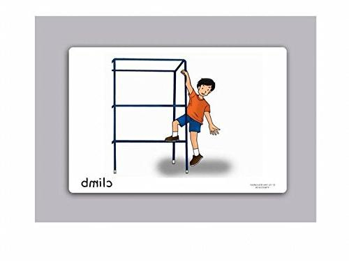 Action Words Flashcards Picture Cards Set 2