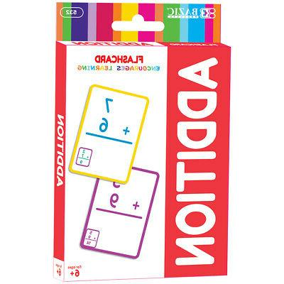 addition flash cards 36 pack wholesale case