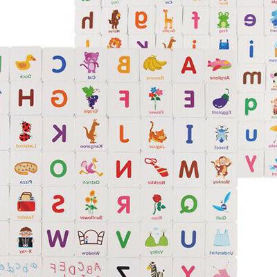 Alphabet Upper and Lower Case With Pictures,