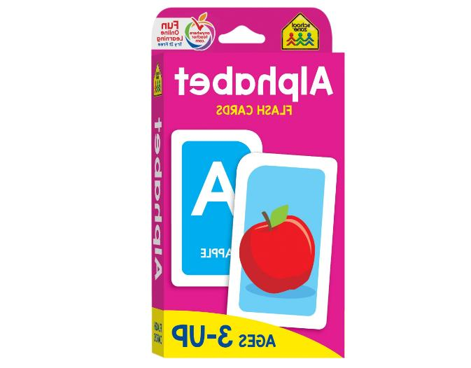 Alphabet Flash Cards Abc Kids Learn Baby Child Learning Brig