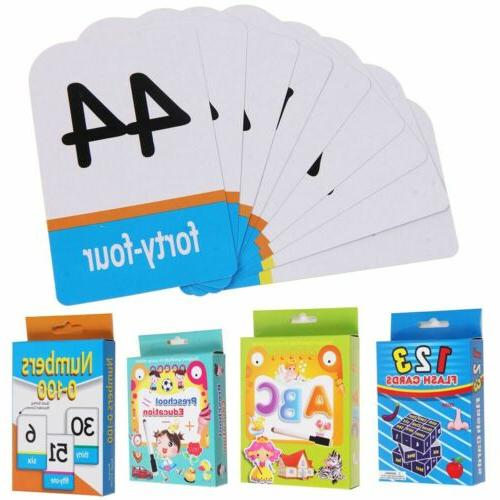 Brighter Flash Cards First Numbers Alphabets