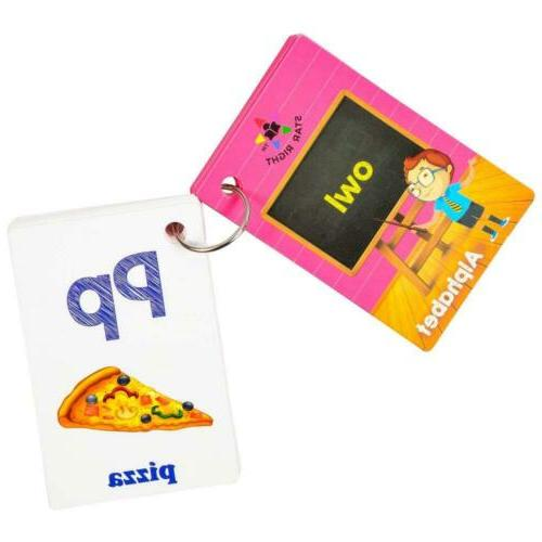 Star Right Flash Cards with Pictures, 36