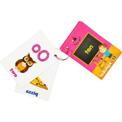 Star Right Alphabets Cards Pictures,