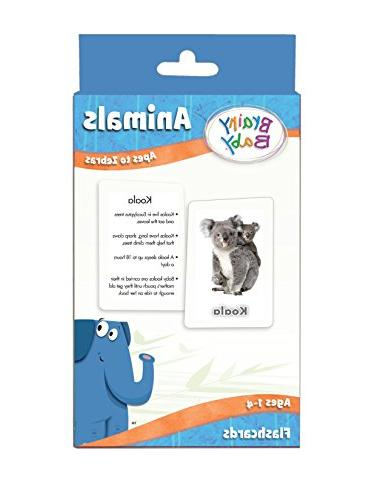 animals flash cards set apes