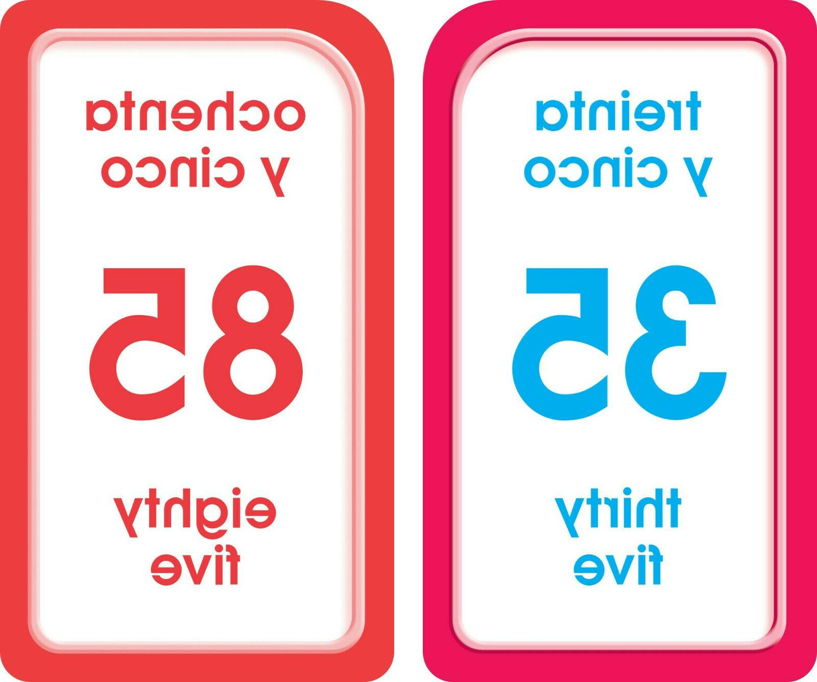 Bilingual Cards Learning Preschool Kids