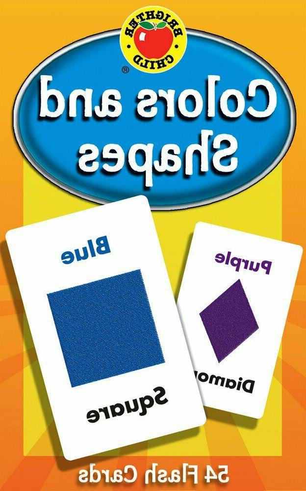 Colors and Shapes Flash Cards Baby Child Early Learning Lear