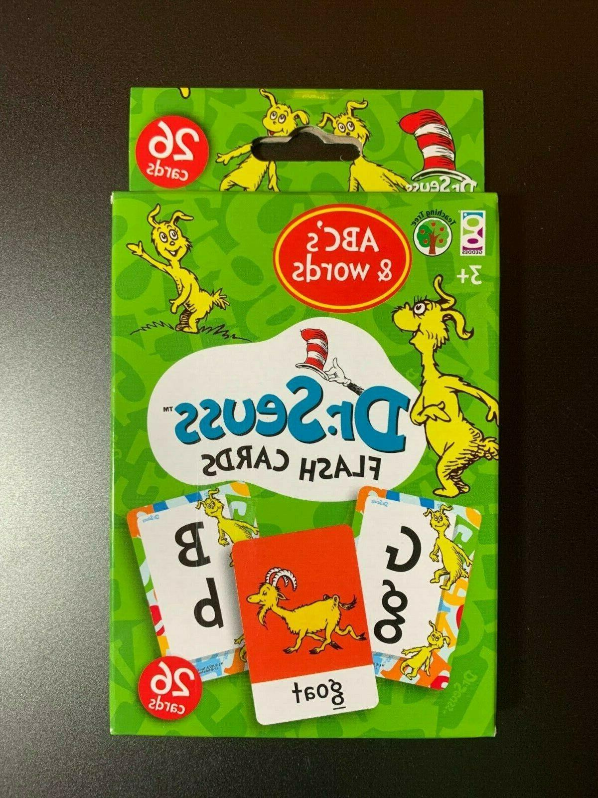 DR.SEUSS CARDS 1-20, ABC'S & COLORS & SHAPES LEARNING!