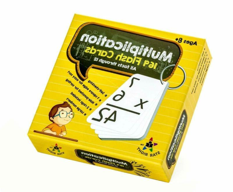 education multiplication flash cards 0 12 all