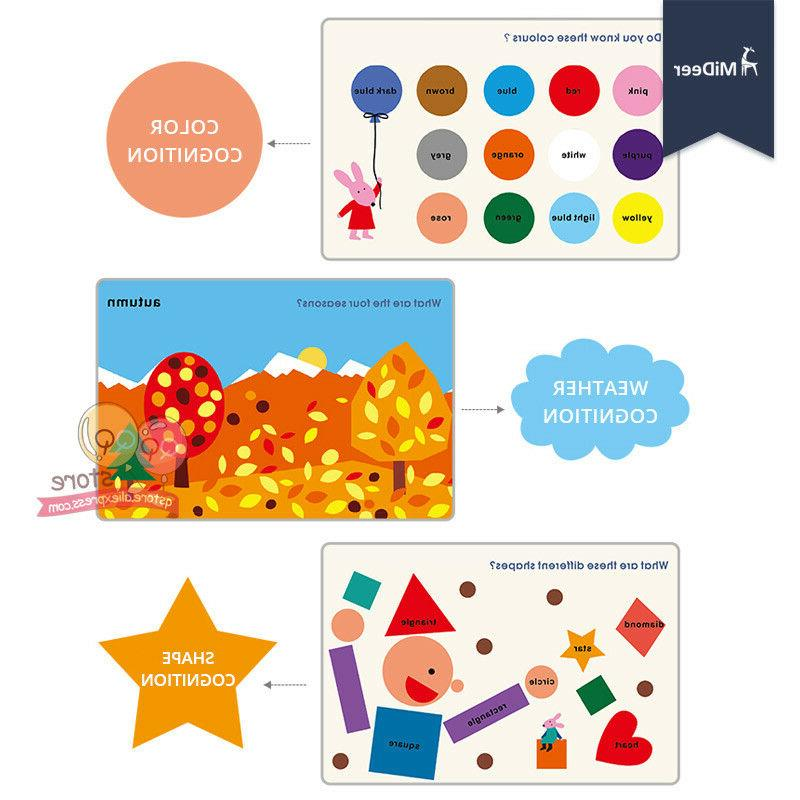 Educational Book Board Game Baby Materials Kids
