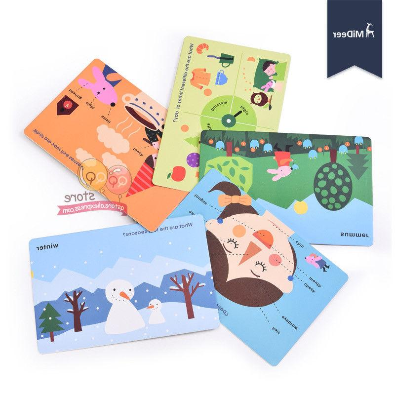 Educational Flash Book Board Materials Learning Kids Toy
