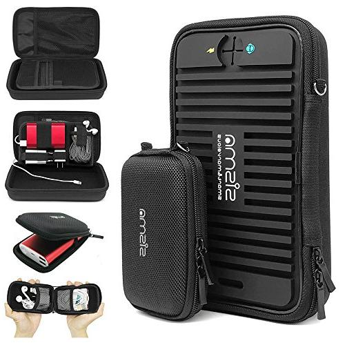 Sisma Travel Electronics Organizer Cables Charger Accessories Carrying Cases Kit
