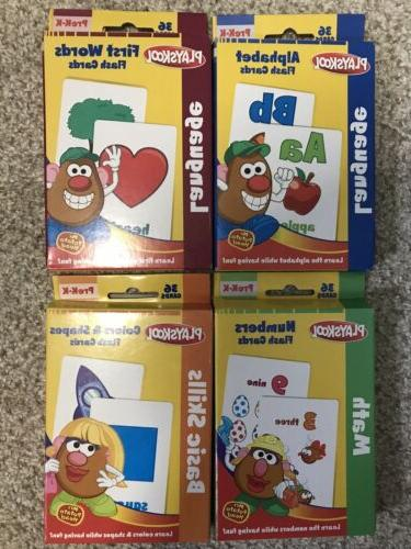 flash cards alphabet first words shapes