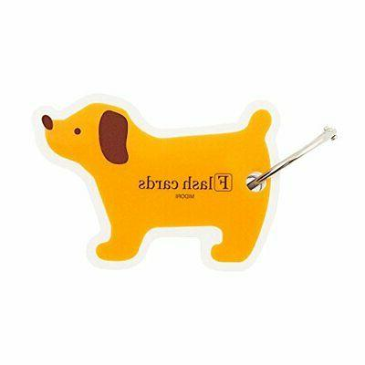 flash cards blank dog shaped pack on
