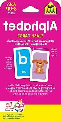 Flash Cards Alphabet Educational First Word