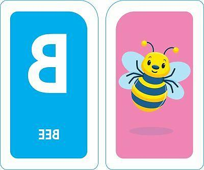 Flash Cards Kids Alphabet Toddlers Educational