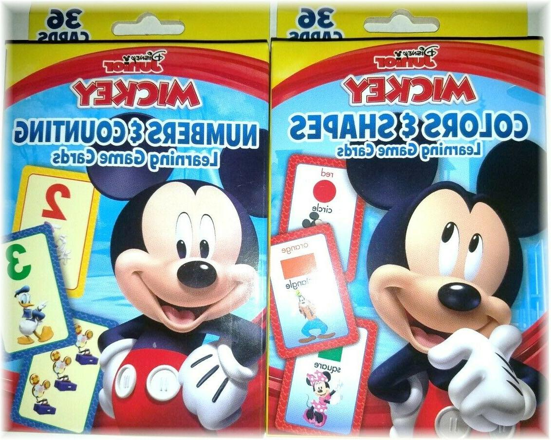 flash cards for kids disney numbers counting