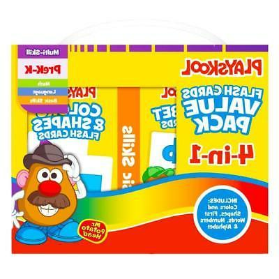 flash cards value pack alphabet first words