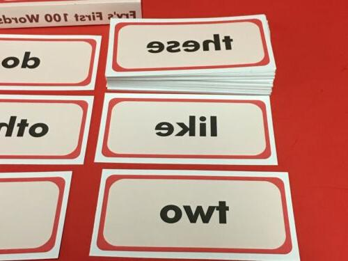 Fry's - Fry Sight Word Flash Cards - cards