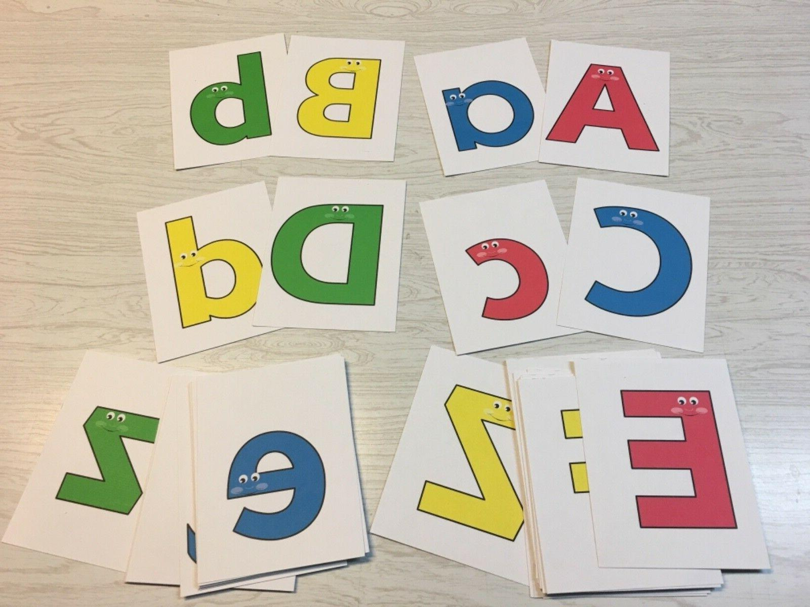 """Happy Pals"" Cards 52 Alphabet card A-Z lowercase"