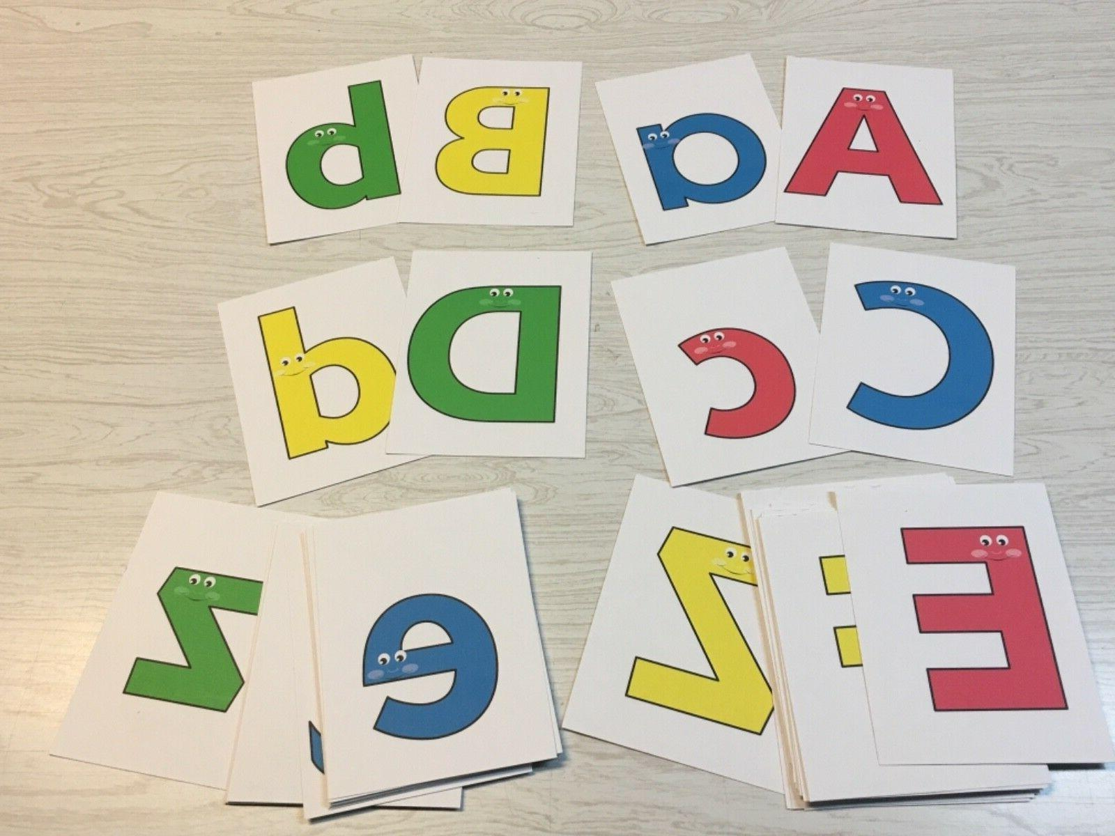 """Happy Flash Cards 52 card Uppercase"