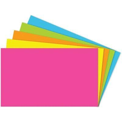 20 Pack TOP NOTCH TEACHER PRODUCTS INDEX CARDS 3X5 BLANK 100