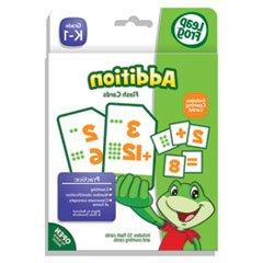 LeapFrog Flash Cards, Addition, 4 3/4 x 6, 80 Cards