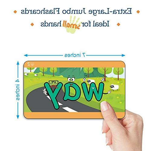 Learn to Read Phonics, Words, & Sentence Story Flashcards - Toddlers, Preschool Champion