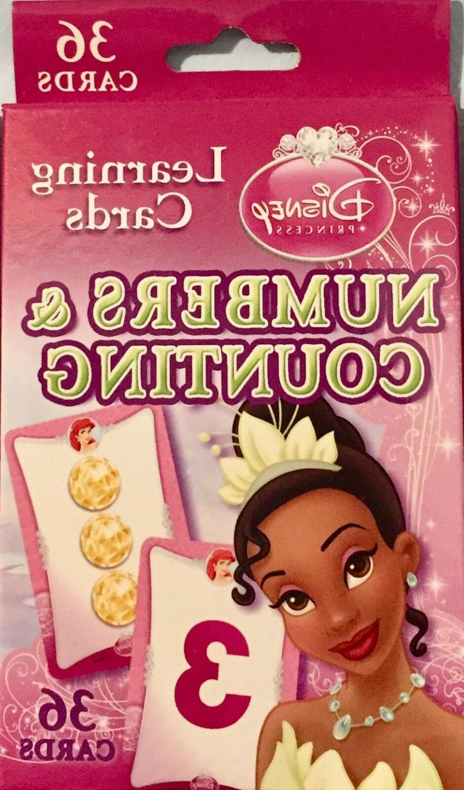 Learning Flash Cards Numbers & Counting Disney Princess - Br